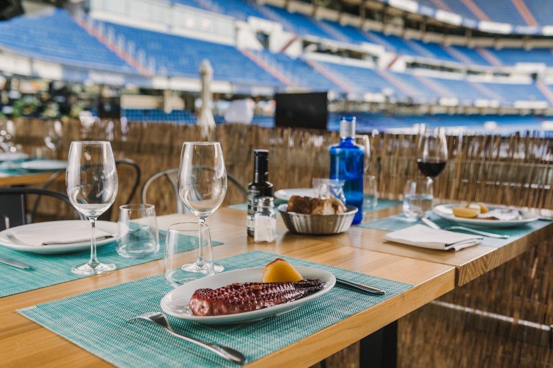 La Terraza del Estadio Santiago Bernabéu - Érase un hotel