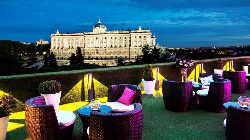 Las 5 mejores terrazas de Madrid Terraza de Sabatini
